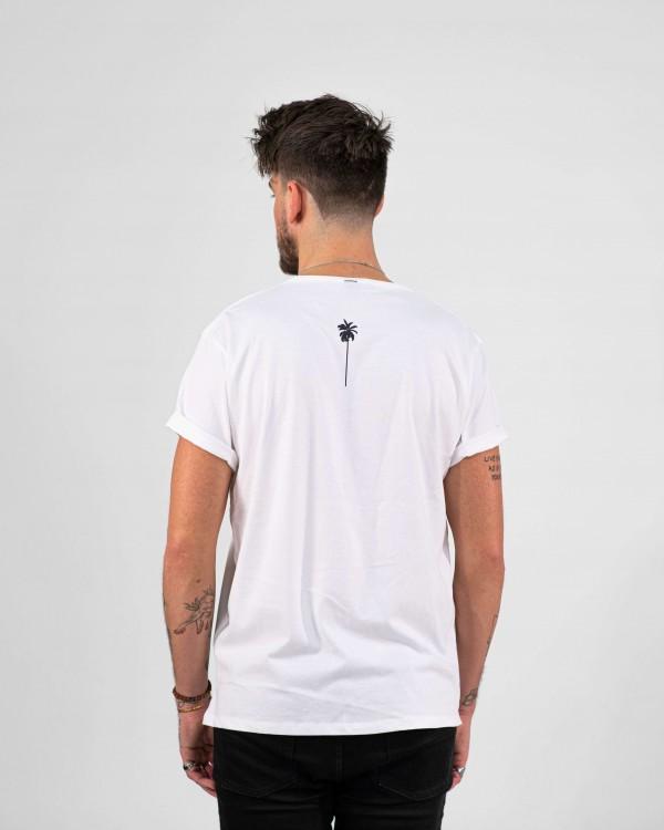 Klasické Tričko STAYCHILL- bílé